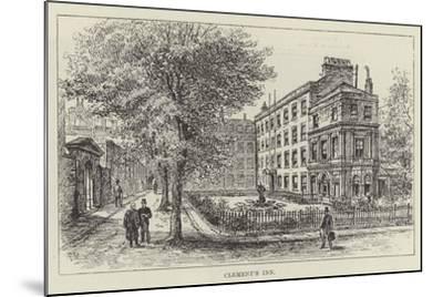 Clement's Inn-Frank Watkins-Mounted Giclee Print