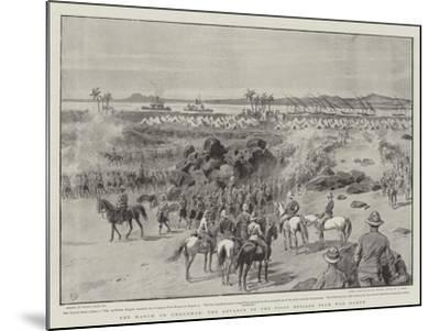 The March on Omdurman, the Advance of the First Brigade from Wad Hamed-Frank Dadd-Mounted Giclee Print
