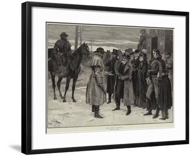 The King's Highway-Frank Dadd-Framed Giclee Print
