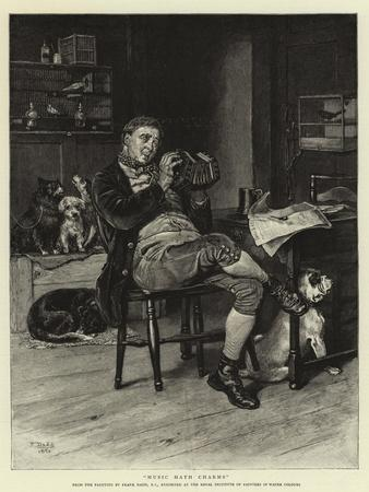 Music Hath Charms-Frank Dadd-Framed Giclee Print