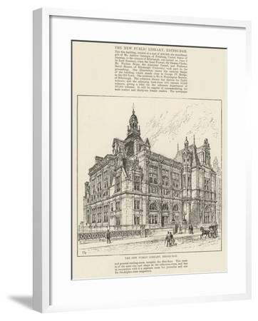 The New Public Library, Edinburgh-Frank Watkins-Framed Giclee Print