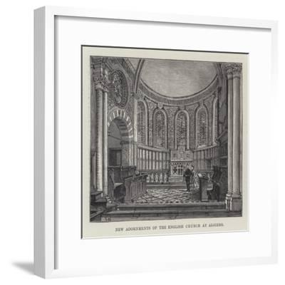 New Adornments of the English Church at Algiers-Frank Watkins-Framed Giclee Print