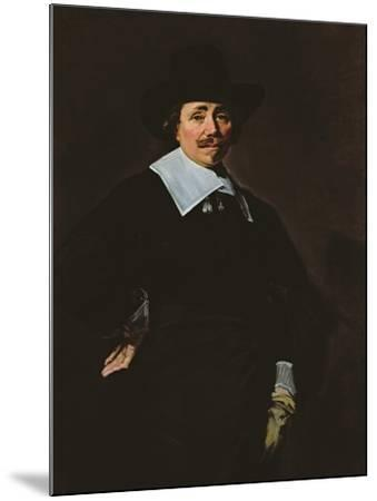 A Dutch Gentleman, C.1643-45-Frans Hals-Mounted Giclee Print