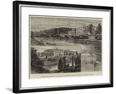Wynyard Park, the Seat of the Marquis of Londonderry, Visited by the Prince and Princess of Wales-Frank Watkins-Framed Giclee Print
