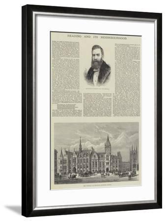 Reading and its Neighbourhood-Frank Watkins-Framed Giclee Print