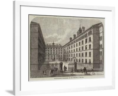 Peabody-Square, Westminster, for the Dwellings of the Poor-Frank Watkins-Framed Giclee Print