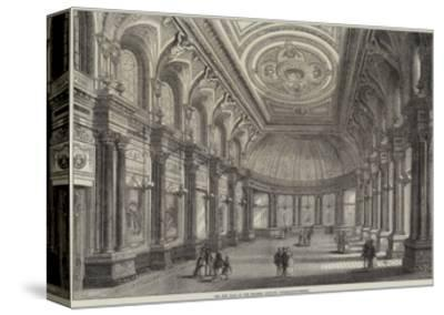 The New Hall of the Drapers' Company, Throgmorton-Street-Frank Watkins-Stretched Canvas Print