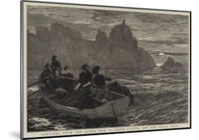 Sketches from the Land's End, Ii, Seine Fishing Off the Logan Rock-Frank Dadd-Mounted Giclee Print