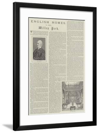 Willey Park-Frank Watkins-Framed Giclee Print