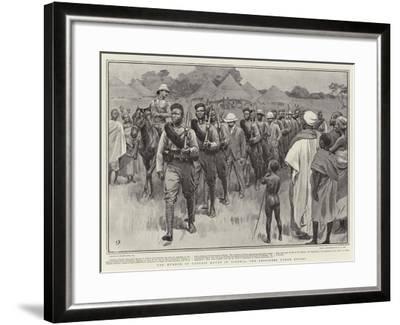 The Murder of Captain Keyes in Nigeria, the Prisoners under Escort-Frank Dadd-Framed Giclee Print
