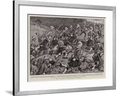 The Fighting on the Indian Frontier-Frank Dadd-Framed Giclee Print