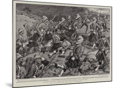 The Fighting on the Indian Frontier-Frank Dadd-Mounted Giclee Print