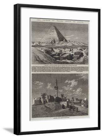 The Prince of Wales' Visit to Egypt-Frank Dillon-Framed Giclee Print