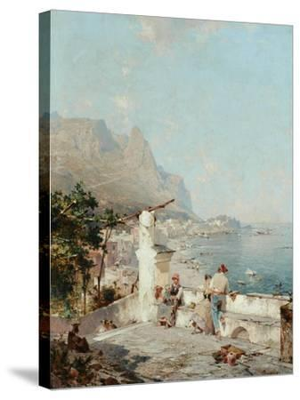 Capri, Golfe De Naples-Franz Richard Unterberger-Stretched Canvas Print