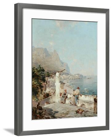 Capri, Golfe De Naples-Franz Richard Unterberger-Framed Giclee Print