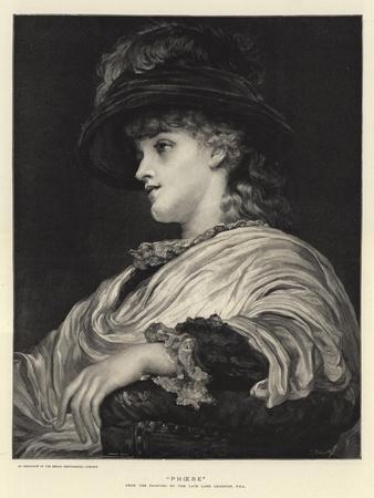 Phoebe-Frederic Leighton-Framed Giclee Print