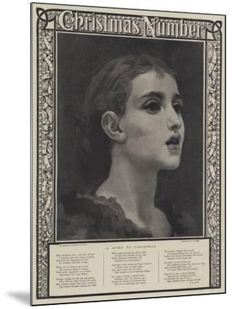 A Hymn to Christmas-Frederic Leighton-Mounted Giclee Print
