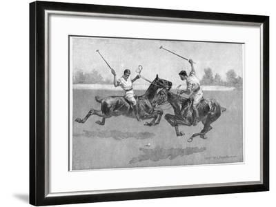 Polo Players, 1890-Frederic Remington-Framed Giclee Print