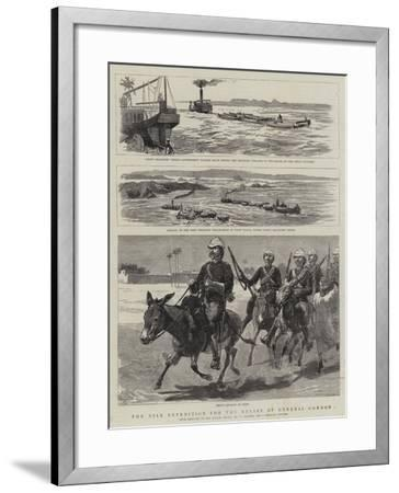 The Nile Expedition for the Relief of General Gordon-Frederic Villiers-Framed Giclee Print