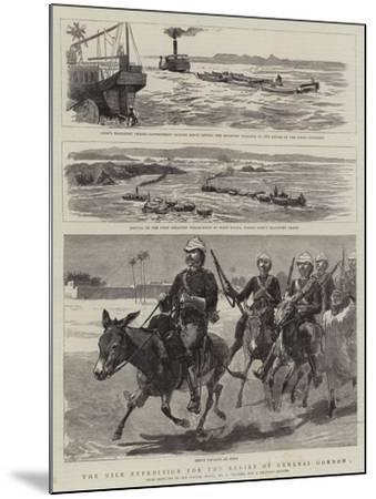 The Nile Expedition for the Relief of General Gordon-Frederic Villiers-Mounted Giclee Print