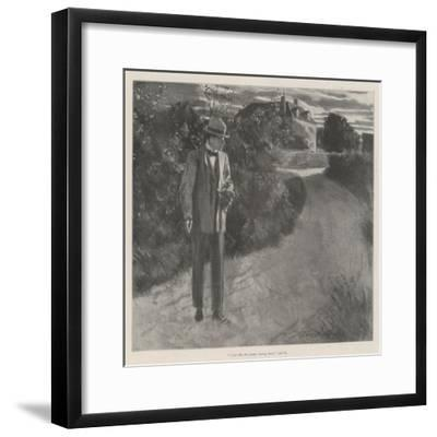 The Hermit of the Yews-Frederick Henry Townsend-Framed Giclee Print