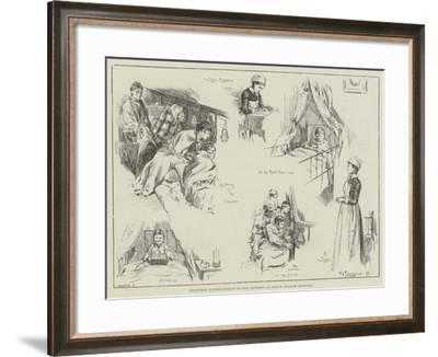 Christmas Entertainment to the Patients at King's College Hospital-Frederick Henry Townsend-Framed Giclee Print