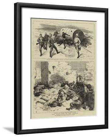 The Rebellion in the Soudan-Frederic Villiers-Framed Giclee Print