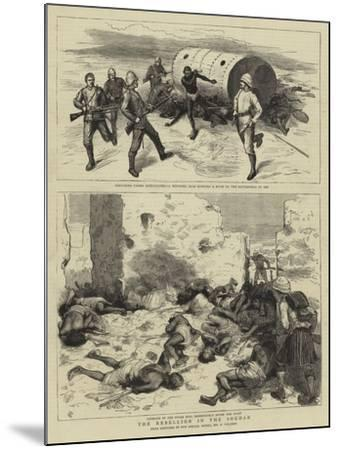The Rebellion in the Soudan-Frederic Villiers-Mounted Giclee Print