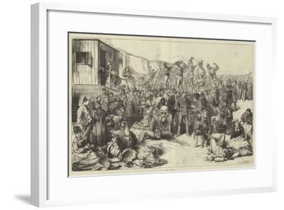 On the Sands-Frederick Barnard-Framed Giclee Print