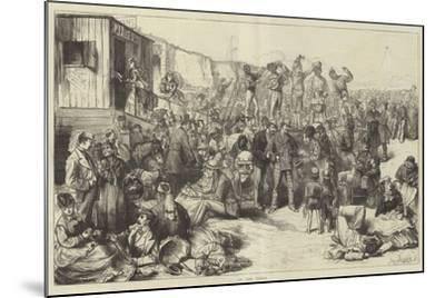 On the Sands-Frederick Barnard-Mounted Giclee Print
