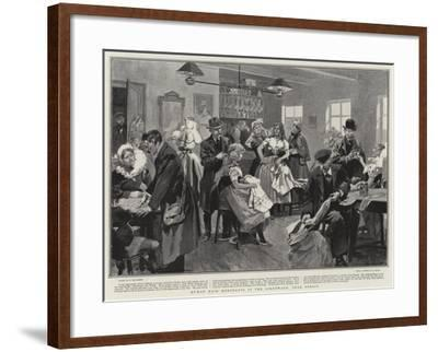 Human Hair Merchants in the Spreewald, Near Berlin-Frederic De Haenen-Framed Giclee Print