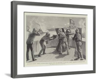 The Soudan Advance-Frederic Villiers-Framed Giclee Print