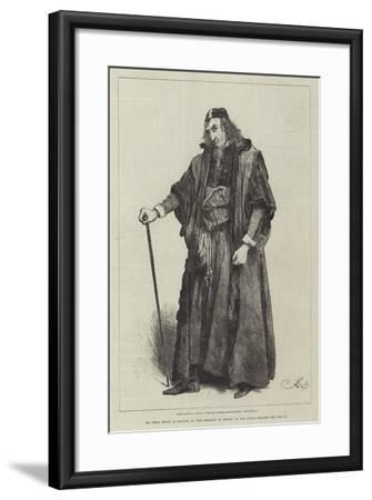Mr Henry Irving as Shylock, in The Merchant of Venice, at the Lyceum Theatre-Frederick Barnard-Framed Giclee Print