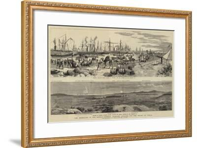 The Rebellion in the Soudan, General Graham's Advance for the Relief of Tokar-Frederic Villiers-Framed Giclee Print