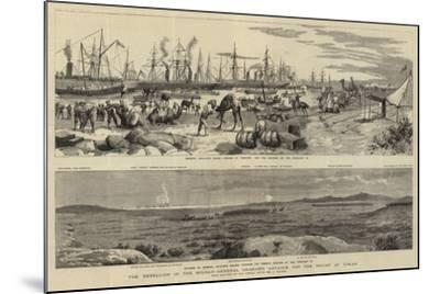 The Rebellion in the Soudan, General Graham's Advance for the Relief of Tokar-Frederic Villiers-Mounted Giclee Print