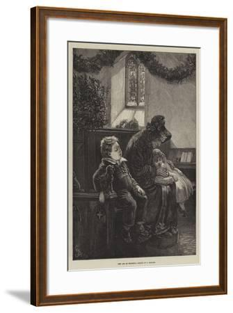 Rest and Be Thankful-Frederick Barnard-Framed Giclee Print