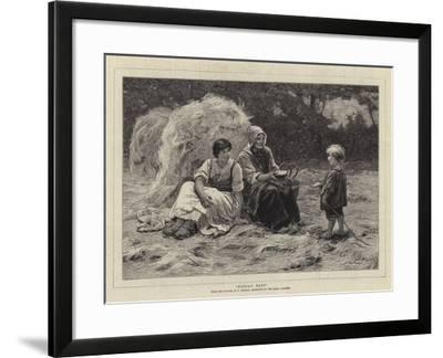 Midday Rest-Frederick Morgan-Framed Giclee Print