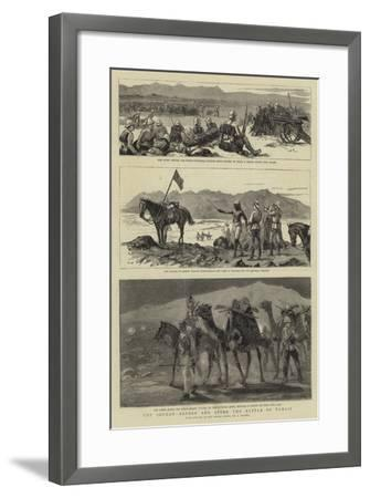 The Soudan, before and after the Battle of Tamasi-Frederic Villiers-Framed Giclee Print