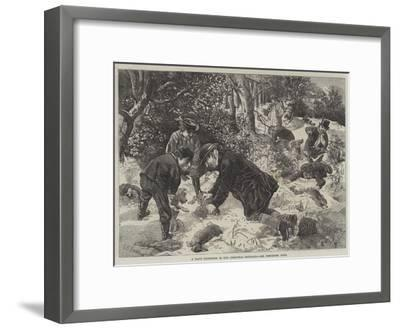 A Day's Ferreting in the Christmas Holidays-George Bouverie Goddard-Framed Giclee Print
