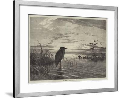 The Months, a Solitary Christmas Eve-George Bouverie Goddard-Framed Giclee Print