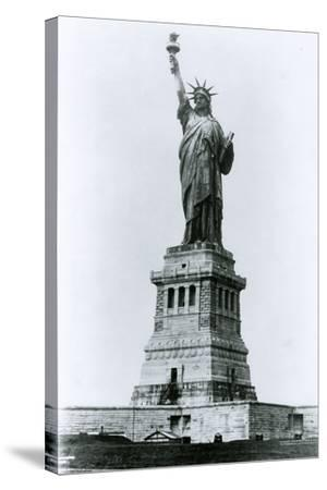 The Statue of Liberty-G.P. & Son Hall-Stretched Canvas Print