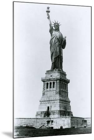 The Statue of Liberty-G.P. & Son Hall-Mounted Photographic Print