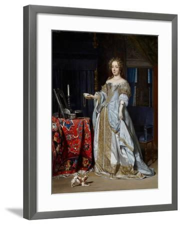 Portrait of a Lady, 1667-Gabriel Metsu-Framed Giclee Print