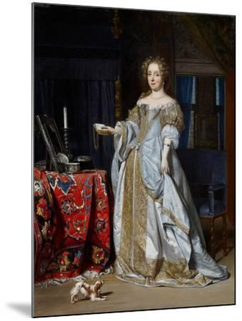 Portrait of a Lady, 1667-Gabriel Metsu-Mounted Giclee Print