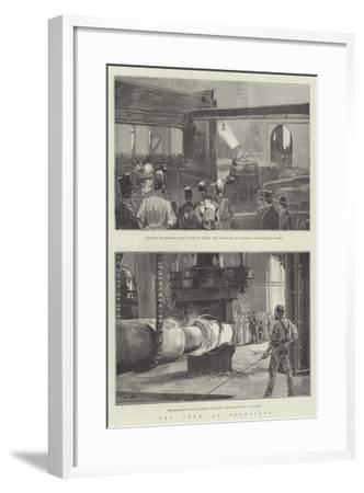 The Shah at Sheffield-Gabriel Nicolet-Framed Giclee Print