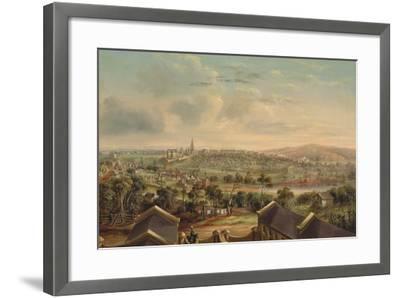 Sydney from Woolloomooloo, 1849-George Edward Peacock-Framed Giclee Print