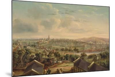 Sydney from Woolloomooloo, 1849-George Edward Peacock-Mounted Giclee Print