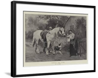 Labour and Love-George Augustus Holmes-Framed Giclee Print