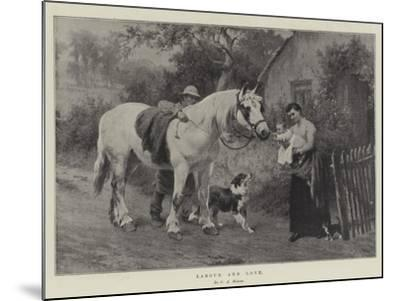 Labour and Love-George Augustus Holmes-Mounted Giclee Print