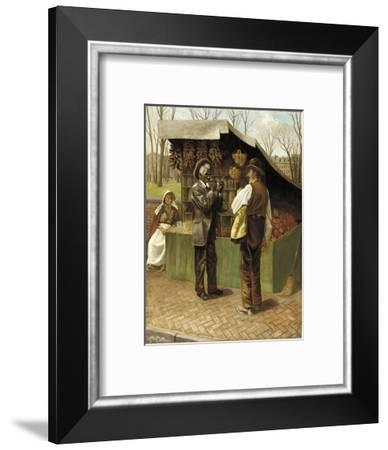 The Fifteenth Amendment (Or Civil Rights)-George Bacon Wood-Framed Giclee Print